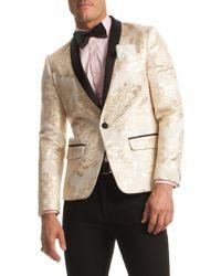 Mr Turk - Alfred Cotton Tuxedo Blazer - Lyst