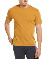 James Perse Back Graphic T-shirt - Yellow
