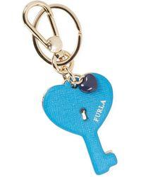 Furla Venus Key Keyring - Blue