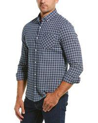 Original Penguin Textured Woven Shirt - Blue