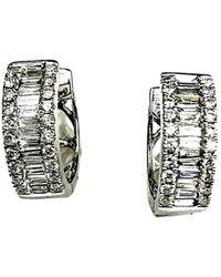 Arthur Marder Fine Jewelry 18k 0.55 Ct. Tw. Diamond Mini Hoops - Multicolour
