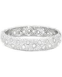 Diana M. Jewels . Fine Jewelry 18k 10.50 Ct. Tw. Diamond Bracelet - Metallic