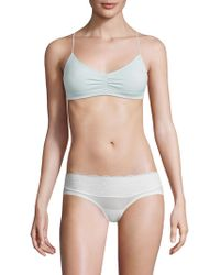 Free People - Gathered Strappy Bra - Lyst