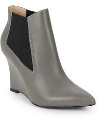 Nicole Miller Artelier - Stella 3 Wedge Boots - Lyst