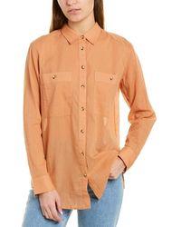 Club Monaco Marnee Shirt - Brown