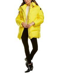 Woolrich Aurora Puffy Down Jacket - Yellow