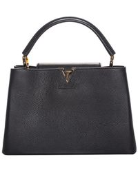 Louis Vuitton Black 2017 Taurillon Capucines Leather Satchel, Never Carried