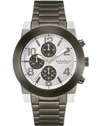 Caravelle NY - Caravelle New York Men's Stainless Steel Watch - Lyst