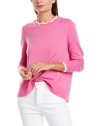 J.Crew Wool-blend Pullover - Pink