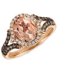 Le Vian ? 14k Rose Gold 1.73 Ct. Tw. Diamond & Morganite Ring - Multicolour