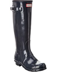 HUNTER Original Tall Rain Boot - Gray