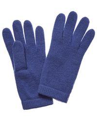 Portolano Cashmere Gloves - Blue