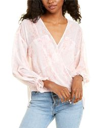 AllSaints Allsaints Penny Masala Top - Pink