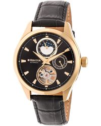 Heritor Men's Sebastian Watch - Multicolour