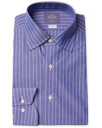 Near North - Striped Dress Shirt - Lyst