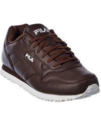 Fila Cress Distress Sneaker - Brown