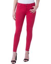 Liverpool Jeans Company Abby Jumpstart Red Skinny Leg