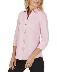 Foxcroft Paityn Top - Pink
