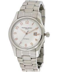 Frederique Constant Men's Stainless Steel Watch - Metallic