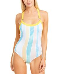 Chaser T-back One-piece - Blue