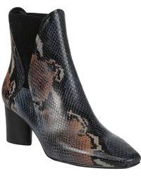 Donald J Pliner Austen Leather Bootie - Black