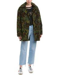 Pam & Gela - Oversized Coat - Lyst