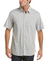 Billy Reid Donelson Woven Shirt - Blue