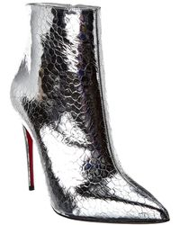 Christian Louboutin - So Kate Craquele Leather Ankle Boot - Lyst