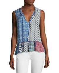 Plenty by Tracy Reese Romantic Top - Blue