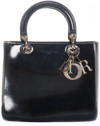 Dior Black Calfskin Leather Lady