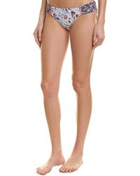 Lucky Brand Gypsy Side Sash Hipster Bottom - Blue