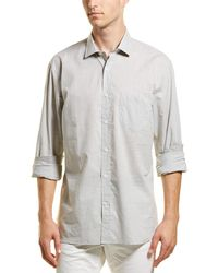 Billy Reid Holt Dress Shirt - Green