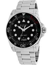Gucci Dive Watch - Metallic