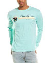Red Jacket Cape Hatteras Vintage Surf T-shirt - Green