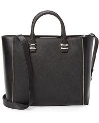 Rebecca Minkoff Mini Perry Satchel Bag - Black