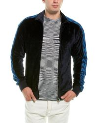 Missoni Velour Track Jacket - Black