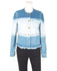 Louis Vuitton Ombre Jacket, Size Fr 34 - Blue