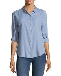 DL1961 - W 4th & Jane Slim Shirt - Lyst