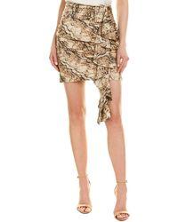 Ronny Kobo Lauryn Mini Skirt - Brown