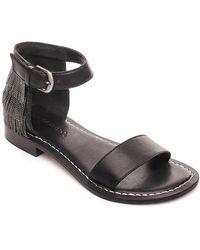 Bernardo - Taci Suede Slingback Sandals - Lyst