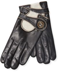 Maison Fabre | Leather Driving Gloves | Lyst