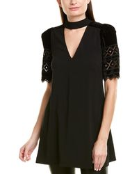 Pinko Cartoncino Tunic - Black