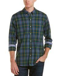 J.McLaughlin Westend Modern Fit Woven Shirt - Green