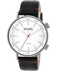 Simplify - Unisex The 3300 Watch - Lyst