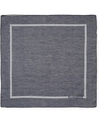 John Varvatos - Signature Cotton Pocket Square - Lyst