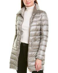 Herno Maria Medium Down Jacket - Gray