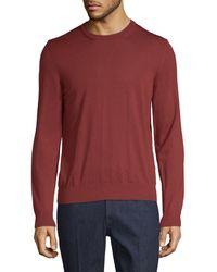 Ermenegildo Zegna - Wool Crew Sweater - Lyst