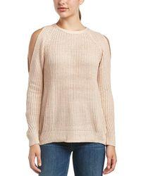 Fate Cold-shoulder Sweater - Multicolour
