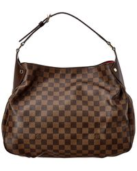 Louis Vuitton Damier Ebene Canvas Blois Reggia Bag - Brown