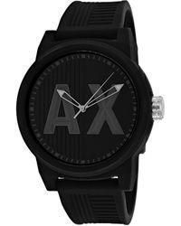 Armani Exchange Men's Atlc Watch - Black